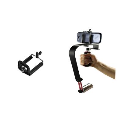 Stabilizátor kamery steadycam W02 s držákem mob. tel.