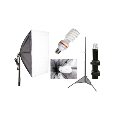 Softbox 50x70cm 35W - set