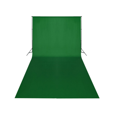 Green screen pozadí 1,8x2,8m + konstrukce (set)
